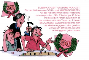 Karikaturen im Arbeitsleben